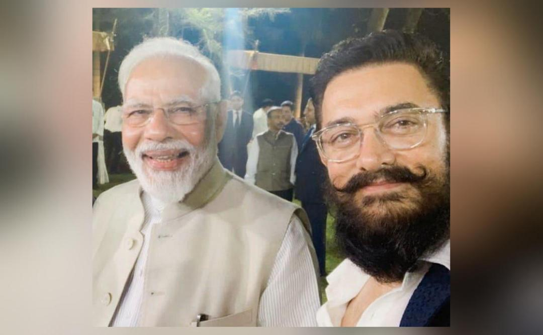 He was very warm, inspiring: Aamir after interaction with PM Modi
