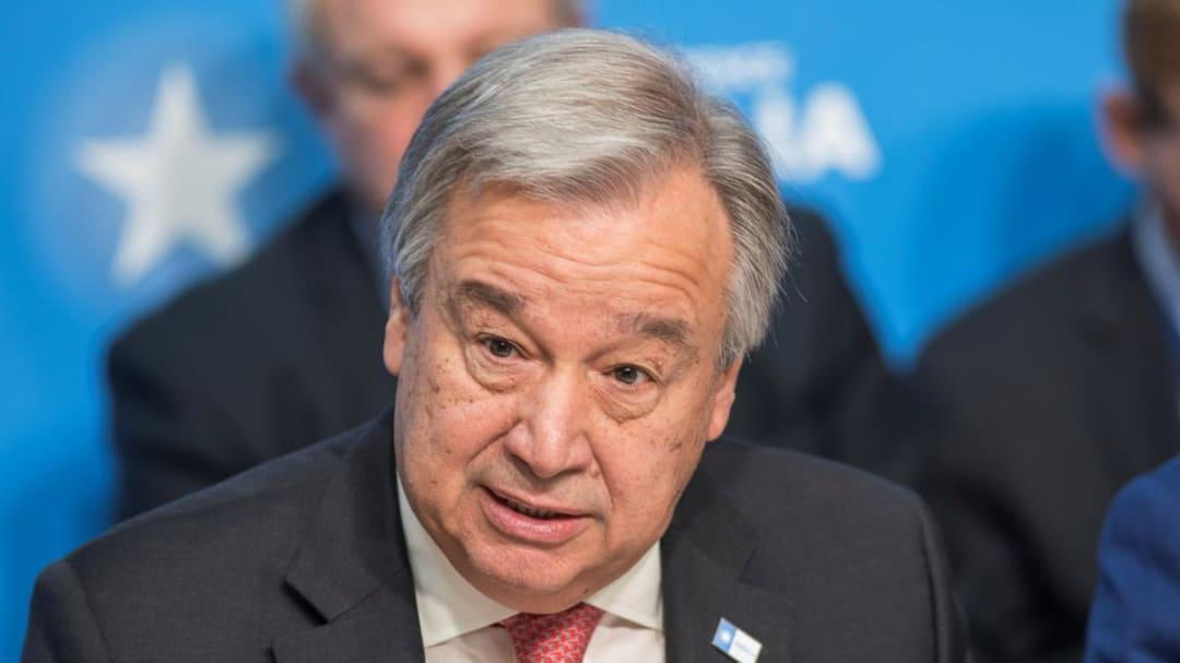 UN chief urges countries not to surrender on climate change