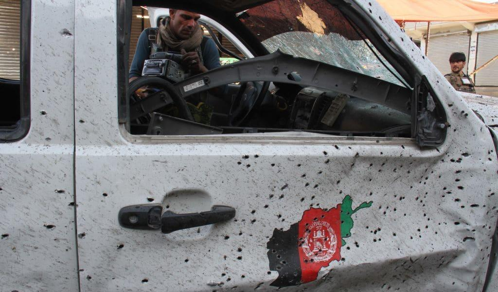 8 security officials killed in Taliban attacks in Afghanistan