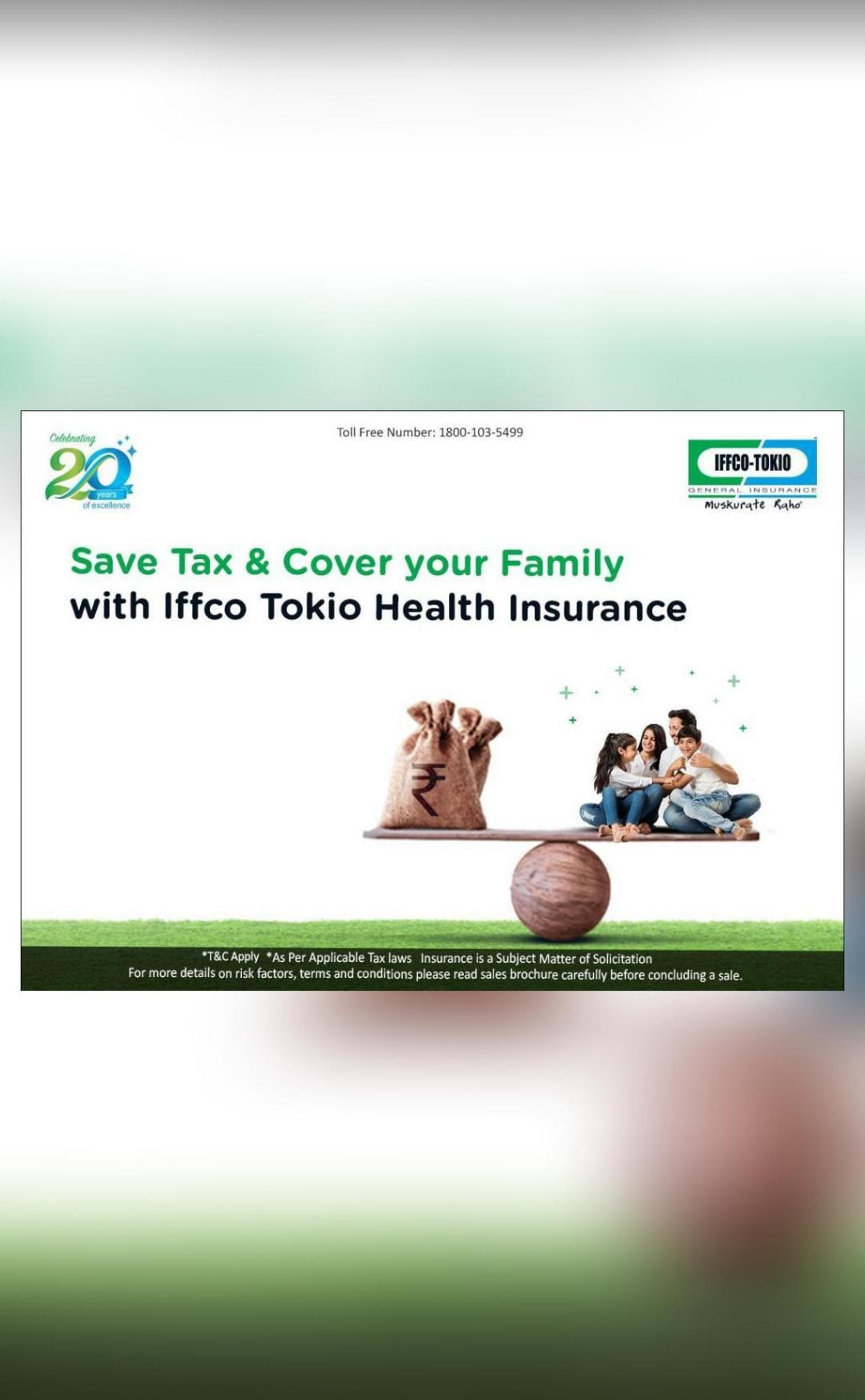 Invest in right health insurance policy & save taxes ...